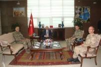 KOMANDO - Korgeneral Erbaş, Vali Ustaoğlu'nu Ziyaret Etti