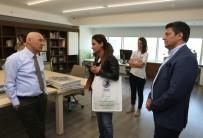 MALTEPE BELEDİYESİ - Maltepe Belediyesi Meclis Üyesi Esra Kaya Erdoğan'dan Başkan Öz'e Ziyaret