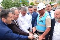 HALIL ELDEMIR - Manişar Osmangazi Camii'nde İlk Cuma Namazı