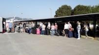 SCHENGEN - Marmaris'te Kapıda Vize Uygulamasına Yoğun Talep