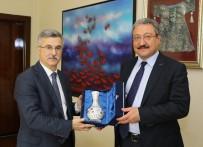 REKABET KURULU - Rekabet Kurumu Başkanı Torlak, ERÜ Rektörü Güven'i Ziyaret Etti