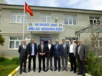 KAYHAN TÜRKMENOĞLU - Türkmenoğlu'ndan Sanayici Esnafı Ve Oda Başkanlarına Ziyaret