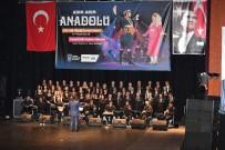 KIRMIZI GÜL - 'Adım Adım Anadolu'Konseri'ne Büyük İlgi