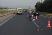 BOZKÖY - Aliağa'da Trafik Kazası Açıklaması 1 Ölü, 1 Yaralı