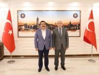 ABDULLAH ÇIFTÇI - Başkan Atilla, Sur Kaymakamı Ve Belediye Başkan Vekili Çiftçi'yi Ağırladı