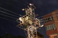 ELEKTRİK TRAFOSU - Elektrik Trafosunda Çıkan Yangın Korkuttu