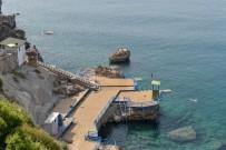 KIŞ MEVSİMİ - Falez Plajları Yeni Sezona Hazır