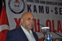 MAHMUT ARSLAN - HAK-İŞ Başkanı KKTC Kamu-Sen 27. Olağan Genel Kurulu'na Katıldı