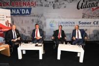 DEVLET BAHÇELİ - Halk Arenası Çukurova'da Mitinge Döndü