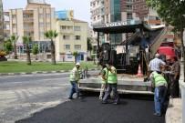 KURUÇAY - Manisa'da 15 Kilometrelik Sıcak Asfalt Çalışması
