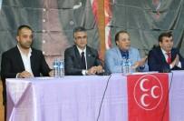 MHP İspir'de İstişare Toplantısı Düzenledi