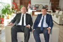 RAMAZAN ÖZCAN - Milletvekili Aday Adayı Samanlıoğlu'ndan MTB'ye Ziyaret
