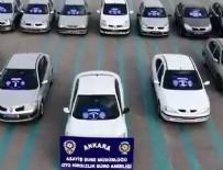 OTO HIRSIZLIK - Ankara'da oto hırsızlık çetesi çökertildi