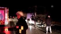 Otobüs Şoförünün Dikkati Olası Faciayı Önledi
