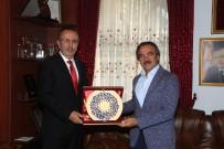 NEVŞEHİR BELEDİYESİ - Rektör Bağlı, Belediye Başkanı Seçen'i Ziyaret Etti