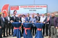 HATIPLI - Semanur Erdoğan Spor Salonu'nun Temeli Atıldı