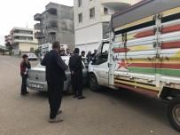 HAYVAN PAZARI - Siverek'te Maddi Hasarlı Kaza