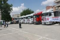 NACI KALKANCı - Adıyaman'dan Afrin'e 69 Tır Dolusu Yardım