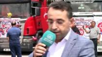 NACI KALKANCı - Adıyaman'dan Afrin'e 69 Tırlık İnsani Yardım