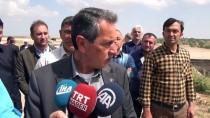 NACI KALKANCı - Adıyaman Havalimanı'nda Dolgu Çalışmaları Heyelana Yol Açtı