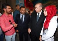 MİLLİ GÜREŞÇİ - Erdoğan Şampiyon Sporcularla Bir Araya Geldi