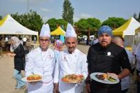 CANLI PERFORMANS - Gaziantep'te Yöresel Yemekler Yarıştı