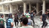 HAVA SALDIRISI - İdlib'e Hava Saldırısı Açıklaması 4 Ölü