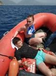 KLEOPATRA - Kayalıklardan Düşen Rus Turist Sahil Güvenlik Tarafından Kurtarıldı