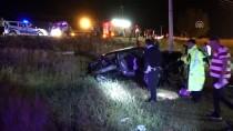 KıRıKKALE ÜNIVERSITESI - Kırıkkale'de Düğün Dönüşü Trafik Kazası Açıklaması 2 Ölü, 5 Yaralı