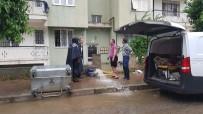 SAĞLIK MESLEK LİSESİ - Mayıs Yağmuru Tire'de Hayatı Felç Etti