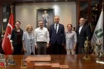 TERMİK SANTRAL - Memleket Sevdalıları Başkan Ataç'ı Ziyaret Etti