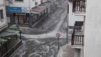 ELEKTRİK KESİNTİSİ - Muğla'da Dolu Yağışı Etkili Oldu