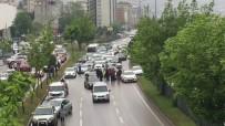 ZİNCİRLEME KAZA - Samsun'da 11 Araç Birbirine Girdi Açıklaması 2 Yaralı