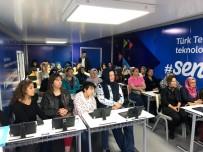 YEMEK TARIFLERI - Türk Telekom 'Gezici Eğitim Tırı' İzmir'e Geldi