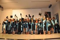 ÜNİVERSİTE SINAVI - Yeni Sağlıkçılar Mezuniyetlerini Kep Fırlatarak Kutladı