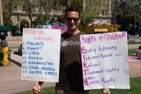 LOS ANGELES - ABD'de Anne Sorunları İçin Yürüyüş