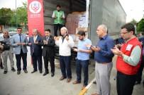 BEBEK MAMASI - Balıkesir'den Afrin Ve Doğu Guta'ya İnsani Yardım TIR'ları Yola Çıktı