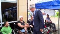 AKÜLÜ SANDALYE - Engellilere Kurayla Elektrikli Sandalye Dağıtıldı