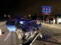 KARAGEDIK - Fethiye'de Trafik Kazası; 4 Yaralı
