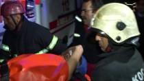 KOCAELI ÜNIVERSITESI - İnşaatta Bıçaklanarak Mahsur Kalan Kişiyi İtfaiye Kurtardı