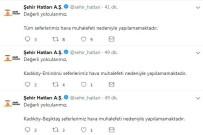 HAVA MUHALEFETİ - İstanbul'da Deniz Ulaşımına Sis Engeli