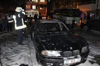 Kardeşine kızıp annesinin otomobilini yaktı