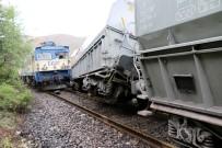YÜK TRENİ - Malatya'da Tren Kazası