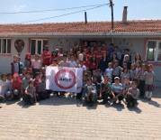 CELAL BAYAR ÜNIVERSITESI - MCBÜ AKUT Öğrenci Topluluğu Köy Okulunu Yeniledi