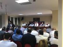 AHMET ŞAHIN - MHP Aydın İl Yönetimi Görev Dağılımı Yaptı