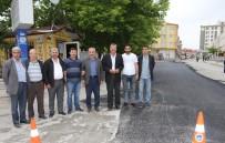 İBRAHIM DEMIR - Sarıcıoğlu Mahallesi'nde Kaldırım Düzenlemesi Ve Sıcak Asfalt Çalışması Yapıldı