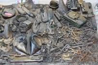 KATI ATIK TESİSİ - Şehirdeki Çöpler Bu Müzede Sergileniyor
