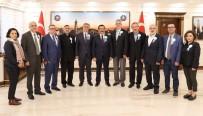 MERYEM ANA - Vakıf Temsilcilerinden Başkan Atilla'ya Ziyaret