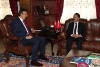 İLHAMI AKTAŞ - Vali Aktaş'tan Belediye Başkanı Seçen'e Hayırlı Olsun Ziyareti