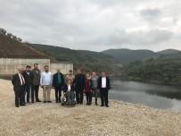 BENNUR KARABURUN - Yalıçiftlik Barajına Su Dolmaya Başladı